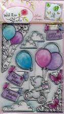 New Wild Rose Studio Clear cling rubber stamp XXL SET BELLA FRIENDSHIP BIRTHDAY