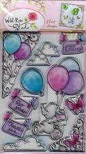 New Wild Rose Studio Clear cling rubber stamp XXL SET BELLA FRIENDSHIP BIRTHDAY
