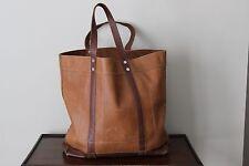 LEVI'S Brown Leather Tote Handbag or Shopping Bag