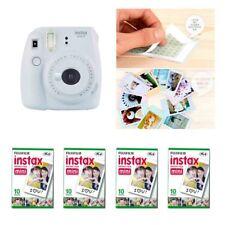 Fujifilm Instax Mini 9 Camera Smokey White 4 Packs Fuji Film 40 Photo 8