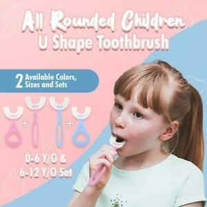 All Rounded Children U Shape Toothbrush