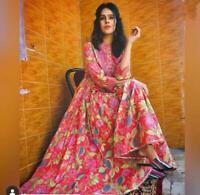 Details about  /Indian Pakistani Un Stitched Running Fabric Kurti Dupatta Pajama Dress Material
