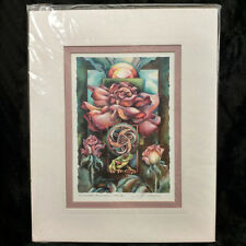 "Another Bloomin Frog! Jody Bergsma Art Print Signed Matted 8"" x 10"""
