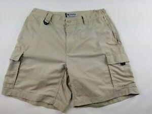 Columbia GRT OMNI-DRY Men`s  Nylon  Cargo Shorts   Size Large  #3094