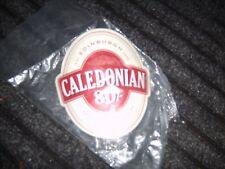 Caledonian   80/- Edinburgh brewery,pump clip face