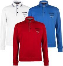 ✅ PIERRE CARDIN Herren Pullover Sweatshirt Hemdkragen Polokragen Stehkragen NEU