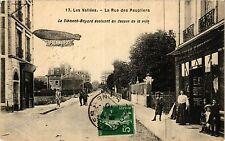 CPA LES VALLÉES La Rue des Peupliers (413075)