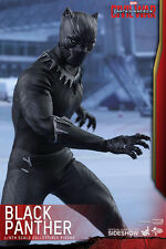 Hot Toys Marvel Captain America Civil War Black Panther 1/6 Scale Figure In Hand