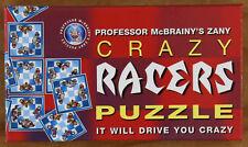 Professor McBrainy's Zany Crazy Racers Puzzle
