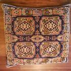 Pillow Made From Turkoman Bag Face