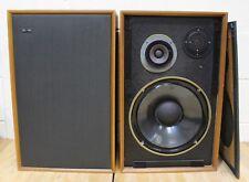 GOODMANS Magnum K2 Vintage Stereo Speakers Loudspeakers 40 W Made England - 250