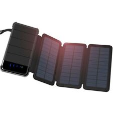 4.5W 30000MAH Foldable Solar Panel Power Bank Battery Charger for Phones WT