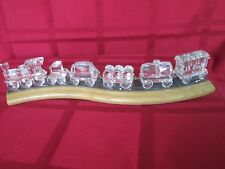 Swarovski Crystal Train complete set (7 pieces)