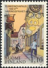 Finland 1979 Business Law/Shop Signs/Cycling/Clock/Bike/Transport 1v (n19580v)