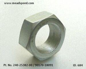 Yamaha Rear Wheel Nut, 90170-18091-00, 90170-18165-00, TD3, TZ250 TZ350, DT100,