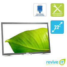 "Dell P2217 22"" Widescreen 1680x1050 16:10 TN LED Backlit Monitor ONLY - Grade C"