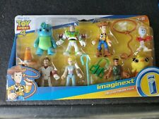 Toy Story 4 Fisher Price Imaginext Deluxe 8 Figure Pack New Woody Buzz Bo Peep