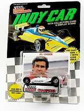 Al Unser SR 1989 1/64 Racing Champions Indy Car New W/ Display Stand Indy 500