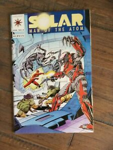Solar Man Of The Atom (1991) # 6 NM. Windsor Smith Art And Insert.