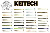 KEITECH 4 in Swing Impact Swimbait Paddle Tail 4 inch 8pk JDM NEW COLORS - Pick