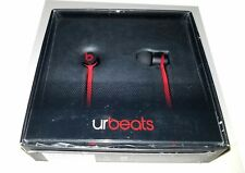 Beats by Dr. Dre - urBeats Earbud Headphones - Red/Black