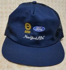 aaa230b3f5b4a1 Snap Back Trucker Ball Cap Hat FORD Truck Car NY Product Development Center  USA