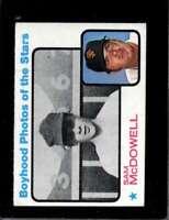 1973 TOPPS #342 SAM MCDOWELL GOOD+ ATHLETICS  *X4828
