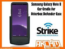 STRIKE ALPHA - SAMSUNG GALAXY NOTE 8 CAR CRADLE OTTERBOX DEFENDER CASE