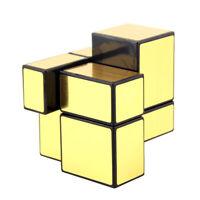 MagiDeal Golden Mirror Magic Cube Speed Twist Puzzle Brain Teaser Toys
