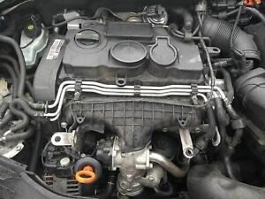 ENGINE SEAT Leon VOLKSWAGEN GOLF 2005/2009 FR 2.0 168Bhp Diesel BMN & WARRANTY