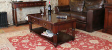 Baumhaus La Roque Mahogany Coffee Table With Drawers IMR08A
