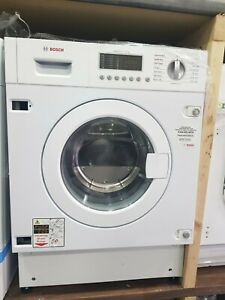 New Unboxed BOSCH Serie 6 WKD28541GB Integrated Washer Dryer - White