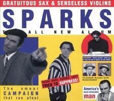 GRATUITOUS SAX & SENSELESS VIOLINS [11/15] NEW CD