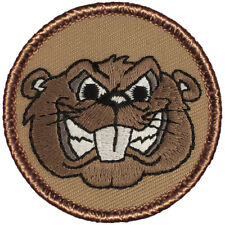 Great Boy Scout Patrol Patch - Angry Beaver Patrol (#563)