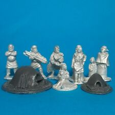 28mm Dark Age civilians camp followers Lion Rampant Saga  cross and crescent