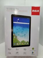 """RCA Viking Pro 10.1"""" Android 2-in-1 Tablet 32GB Quad Core, Pink"""