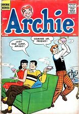 Silver Age Comic Archie #105 Tea Cover 1959