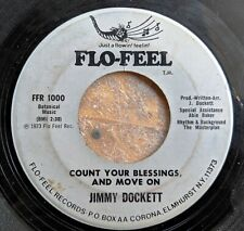 SOUL 45: JIMMY DOCKETT When We First Met/Count Your Blessings, and Move On