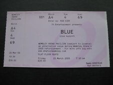 BLUE WEMBLEY  25/03/2005  TICKET UNUSED