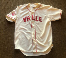 Team Valle Inc / New York League Majestic Baseball Jersey Men's Large