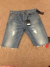 """Saint Laurent Paris Denim Shorts baggy 31"""" RRP £465 NEW WITH TAGS"""
