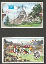 BELIZE SELECTION OF 16 QE2 PERIOD MINI SHEETS FRESH MNH SEE THE 9 SCANS