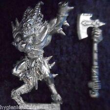 2001 caos Bloodletter 1 minore daemon Citadel DEMONE Khorne WARHAMMER ESERCITO DEVIL