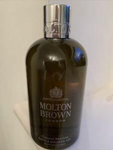 MOLTON BROWN-tobacco absolute Bath & Shower Gel-300ml--NEW/UNBOXED