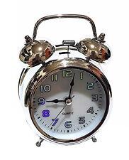 nostalgique rétro cloche lumière Réveil Montre Réveil-matin Mécanique Quartz