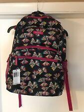 Vera Bradley Essential Lighten Up Large Backpack Art Butterflies NWT