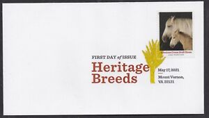 US 5590 Heritage Breeds American Cream Draft Horse DCP FDC 2021