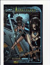 Avengelyne #1 Holochrome Signed w/ COA 2789 / 3500 Maximus Press Comics NM