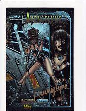 Avengelyne #1 Holochrome Signed w/ COA 2789 / 3500 Maximus Press Comics NM