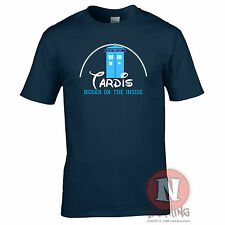 Tardis - Bigger on the inside Whovian Dr tribute t-shirt Who Timelord most cool